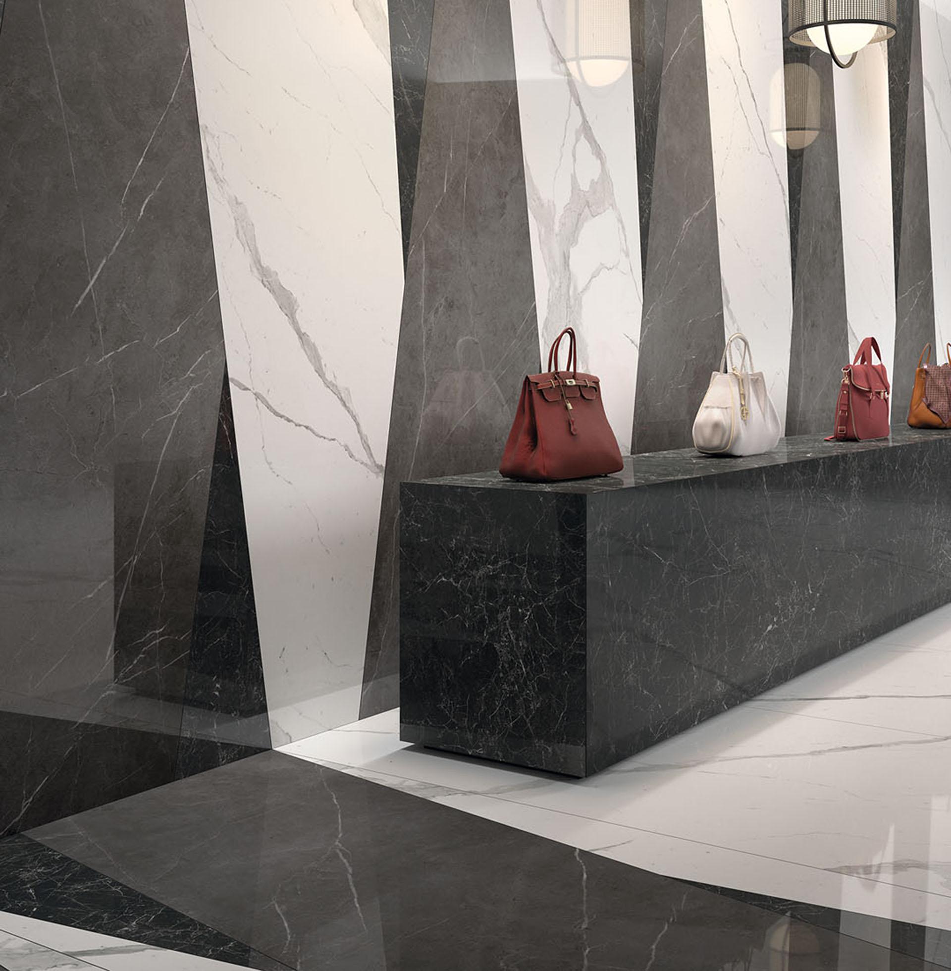 Boutique collezione Marmi Pregiati