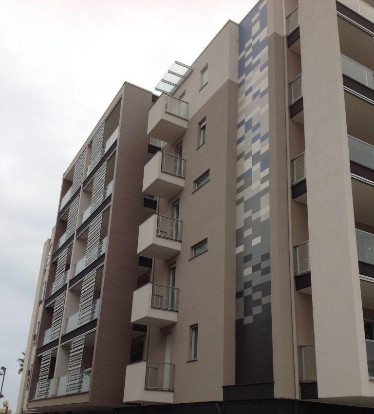 Facciata esterna ventilata in Pescara